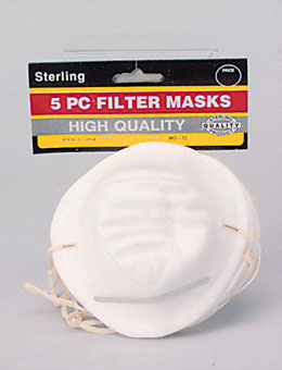 10 Disposable Dust Mask